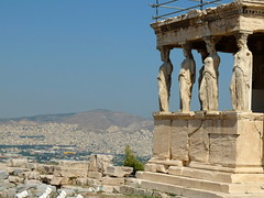 The Porch of the Caryatids (Erika & Rüdiger) Tags: temple europe athens greece ancientgreece erechtheion classicalantiquity porchofcaryatids acropolisofathens