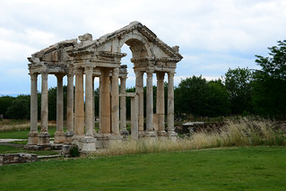 APHRODISIAS Ancient City -  The monumental gateway or tetrapylon