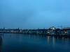 Découverte de l'Est (Antoine Desloges Studio) Tags: noel bâle suisse frontière rhin fleuve marche promenade commerces architecture eau pont bridge winter brouillard