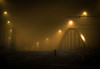 After Fullmoon (Thomas Listl) Tags: thomaslistl night fog street urban orange bridge lights lanterns road misty foggy