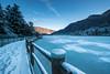 endine (francesco (omino del vento)2) Tags: landscape lake nikon 1424 d800 dinamiccolor winter whater ice italy italia bergamo lago