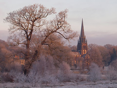 2016_12_0494 (petermit2) Tags: winter frost chapelofstmarythevirgin stmarythevirgin saintmary church chapel clumberpark clumber sherwoodforest sherwood nottinghamshire nationaltrust nt