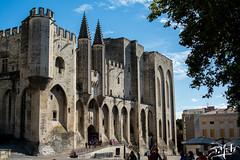 Palais des Papes / Palace of the Popes - Avignon (christian_lemale) Tags: avignon palais palace papes palaisdespapes provence france nikon d7100 popes