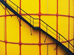 stairs (try...error) Tags: red yellow rot gelb leica