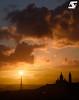 Tour Eiffel & Sacré-Coeur (A.G. Photographe) Tags: anto antoxiii xiii ag agphotographe paris parisien parisian france french français europe capitale toureiffel eiffeltower sacrécoeur montmartre d810 nikon nikkor 70200vrii sunset goldenhour