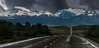 Highway to the Mountains (Ruth Voorhis) Tags: mountainrange peaks snow sky clouds terrain trees road outdoors