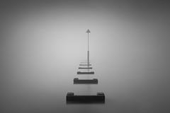 The Fog II (Scott Baldock) Tags: fog sea marker long exposure 10 stop photography southend mist estuary eerie mood atmosphere canon