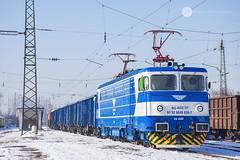 Blue & Blue (cossie*bossie) Tags: bdz class 46 46036 elena cargo freight train bulgarian railways iskar station sofia bulgaria electric locomotive reloc sa electroputere craiova