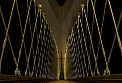 Inside bridge (Mayer Martin) Tags: europe prague bridge night nightfoto nightfototrip vltava most trojský good place different view