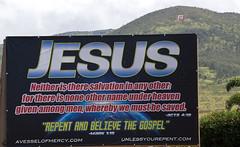 Banners on Lahainaluna Rd. Maui (G2K PHOTO) Tags: john316 acts412 repentofyoursin repentorperish repentamerica revelation2015 lahainaluna jesusisgod jesuschrist jesussaves jesusforgivessin john33 gospelbanners gospeltracts g2kphoto godisholy wagesofsinisdeath eternallife evangelism everytonguewillconfess eternity lahainacruiseship bookoflife bornagain unlessyourepentcom avesselofmercycom ishellrealcom