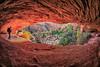 Zion Cave (KPortin) Tags: zionnationalpark trail wilbur cave fisheye