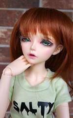 Felicity - MNF Ria (katnekochan) Tags: minifee bjd doll ria minifeeria pretty salty mnf aline felicity