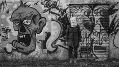 Thestranger2017-15_1920_1082 (BenSG) Tags: fujixt10 thestranger humour horror verona bn blackandwhite ruins