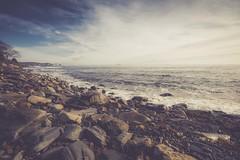 Where I Live (jm atkinson) Tags: purple 7dwf seascape landscape johns bay atlantic maine pemaquid peninsula new harbor ocean rocks sky wide angle