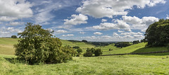 Summer day in the Peak District (Keartona) Tags: summery summer landscape panorama green countryside peakdistrict derbyshire england english sky sunny beautiful scenery parwich