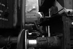 Just a Glimpse (Duck 1966) Tags: 70013 olivercromwell gcr goods loughborough timelineevents train gloom