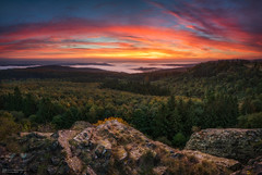 these moments I love (Alexander Lauterbach Photography) Tags: hessen nordhessen deutschland germany zierenberg ahnatal kassel sonnenaufgang sunrise autumn fall herbst nebel wald panorama sony a7r a7rm2
