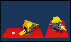 "The Transport Ship ""Tation"" (Karf Oohlu) Tags: lego moc microscale microspacetopia scfi cargoship transporter spaceship"