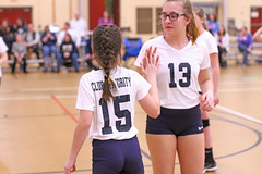 JIMG (39) (SJH Foto) Tags: girls volleyball teen teenager team club integrity u12s substitution sub rotation