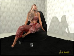 Scandalize  DIANE FATPACK_001 (Lules_Brimm) Tags: poses female fashion jumpsuit skins