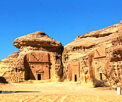 Mada'in Saleh (haidarism (Ahmed Alhaidari)) Tags: history tomb heritage madainsaleh unesco madina saudiarabia old beautiful mountain sand desert travel travelling tourist tourism sonya65