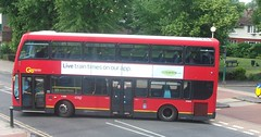 London General DOE40 on route 213 Sutton Green 05/06/15. (Ledlon89) Tags: bus london transport surrey sutton londonbus tfl londongeneral goaheadlondon bsues