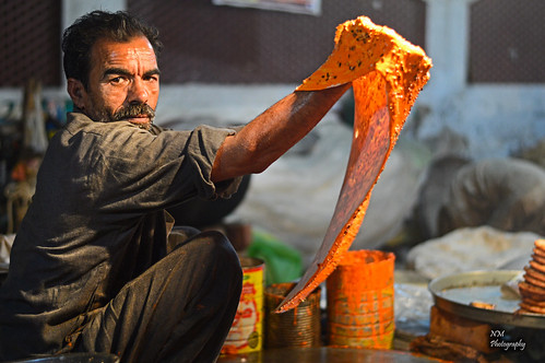 Katlama...The famous bread from streets of Lahore