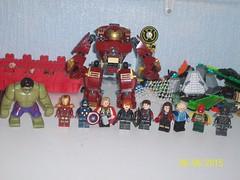 Avengers: Age of Ultron: Avengers Groupshot (kylejlego) Tags: ironman quicksilver vision hawkeye blackwidow hulk thor marvel captainamerica mcu ultron scarletwitch hulkbuster ageofultron
