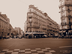Intersection in St Germain-des-pres!