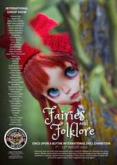 Once upon a Blythe: Fairies and Folklore exhibition