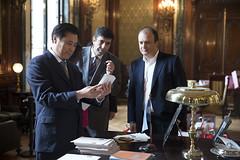 Espiñeira recibe a delegación de China en el CCK (Ministerio de Cultura de la Nación) Tags: china delegación recorrida espiñeira ministeriodeculturadelanación centroculturalkirchner