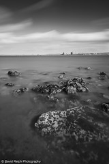 North Gare (David Relph) Tags: longexposure sea blackandwhite bw seascape industry canon mono coast north wideangle middlesbrough teesside eastcoast northgare northeastcoast longshutterspeed weldingglass tamron1024mm davidrelph davidrelphphotography