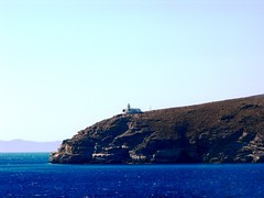 Greece ~ Kea ~ Lighthouse Tamelos 3 (M Lamprinos) Tags: sea summer lighthouse mountain island waves greece kea kythnos    tamelos