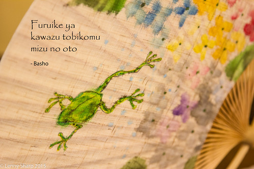 "Frog - Basho - Haiku • <a style=""font-size:0.8em;"" href=""http://www.flickr.com/photos/55493827@N04/19369103415/"" target=""_blank"">View on Flickr</a>"