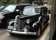 1940 Cadillac Series 72 (SPV Automotive) Tags: black classic car sedan 1940 cadillac series 72