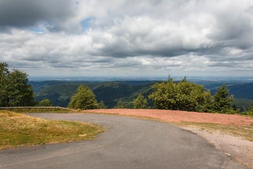 Route vers le Col du Donon