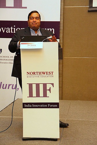 Ravi Gururaj delivering Keynote Address
