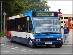 Stagecoach 47036 (KX03 KZA) (Colin H,) Tags: bus sc northampton united 15 solo lane service oe stagecoach acre counties 2015 ibp optare kza 47036 kx03 m920 ipswichbuspage colinhumphrey kx03kza