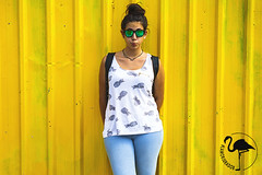 Berenjena. (Leticia Amor-Jurado Bestard) Tags: portrait yellow sony amarillo sonyalpha sony7 sonyalpha77ii lamorjuradob