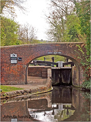 Aldersley Junction. Staffs &Worcester Canal, junction with Birmingham Canal Navigations. (john.richards1) Tags: boat canal shropshire union canals narrow worcester staffs