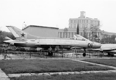 Mikoyan MIG 21  Moscow 1966 (San Diego Air & Space Museum Archives) Tags: airplane aircraft aviation militaryaviation mig21 fishbed mikoyangurevich mig21fishbed mikoyangurevichmig21 mikoyangurevichmig21fishbed