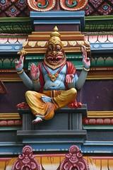 Buddist temple, Kuala Lumpur, Malaysia