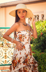 Rebecca-12 (Photobaan) Tags: art beautiful female asia dress rebecca young exotic thai filipino casual swimsuit
