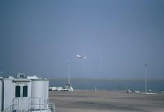 澳门国际机场 (Allan_lun) Tags: film 胶卷 澳门 国际机场 飞机 airport contax g1 g90 fuji rxp 400