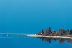 Brücke (oliver.schmitter) Tags: viadukt brücke see sihlsee minimal draussen lake bridge reflektionen spiegelung