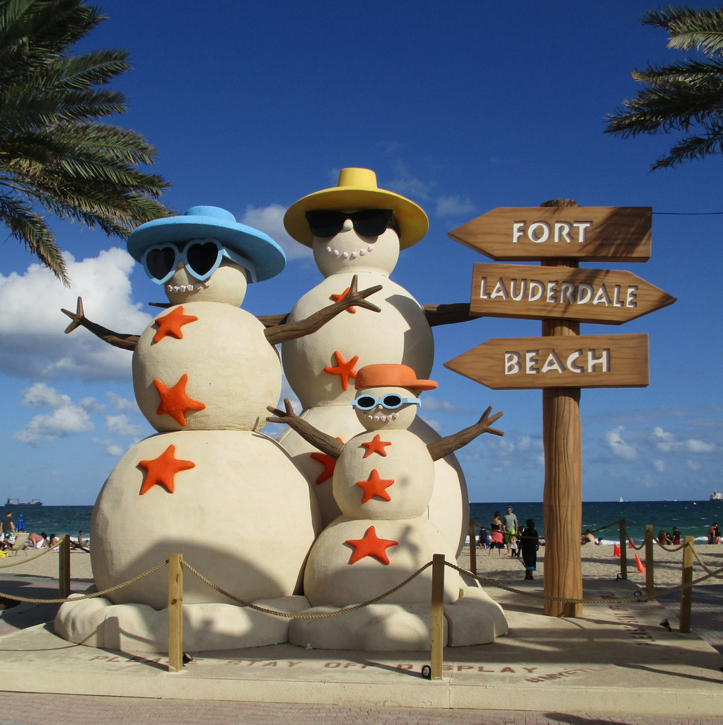 Best Christmas Decorations Fort Lauderdale: The World's Best Photos Of Florida And Snowman
