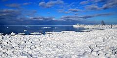 Marshmellow shores (anj_p) Tags: jordan lakeontario lake lighthouse winter iced frozen shores