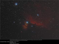 20170118_Tête de cheval (Clapiotte_Astro) Tags: horsehead nebula nébuleuse tête cheval orion night nuit nature astronomy astronomie astrotech66ed skywatcher eq6 canon450d baader