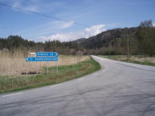 Road towards Dingle 2008