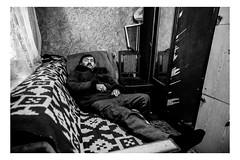 (Roman Lunin) Tags: ukraine easternukraine blackwhite blackwhitephoto bw blackwhitephotography black white monochrome postsoviet old aged age poverty frontline lifeonfrontline warinukraine war warphotography oldpeople people peopleathome elderly disabled